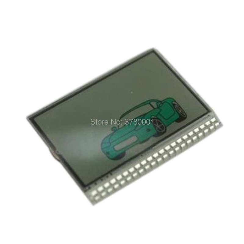 TW 9010 Lcd Display Screen For 2 Way Car Alarm System Keychain Tomahawk Tw-9010 Tw9010 LCD Remote Control Key Chain