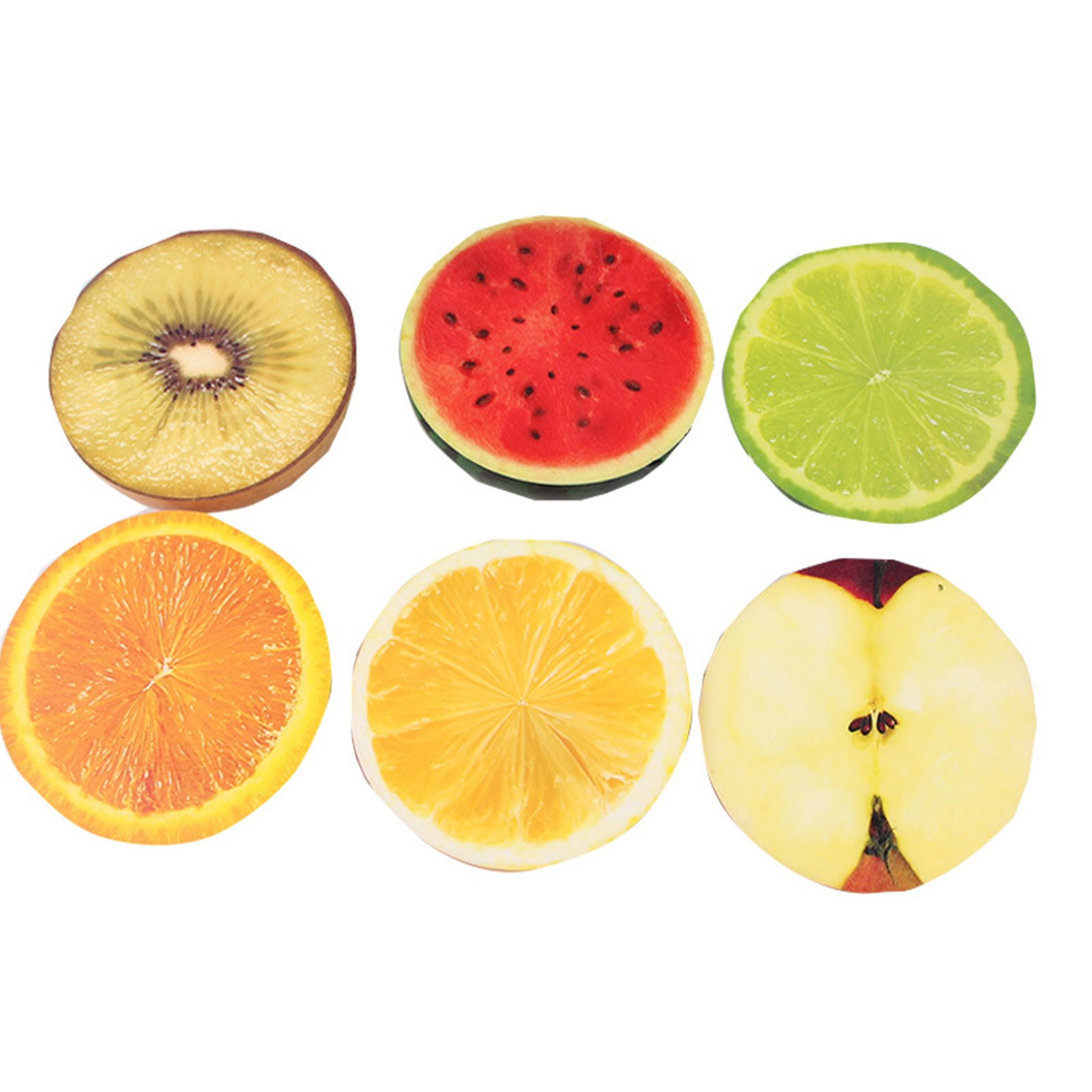 Toys Stress Fruit-Squeeze-Toy Gift Slow Rising Half-Fruit Creative Cute Food-Model Color-Printing img3