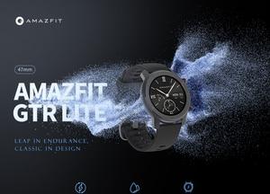 Image 2 - En Stock Amazfit GTR Lite 47mm Smart Watch versión Global 24 días batería con 5ATM impermeable AMOLED pantalla para Android IOS