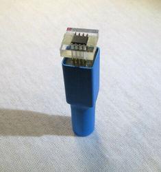 Adaptador de Pin EEPROM SOIC8 para programación de velocímetro con *** tapa guía ***