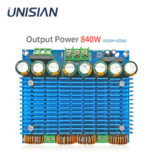 UNISIAN 420W + 420W TDA8954 Auido Amplifier Consiglio di Classe D BTL TDA8954TH 2.0 Channel Digital Ultra Ad Alta Potenza amplificatori AC 24 30V