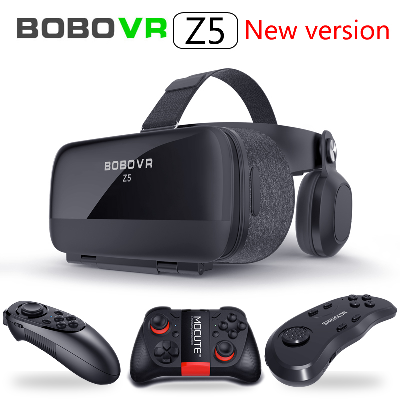 Bobovr Z5 Bobo VR Gerceklik Virtual Reality Glasses 3d Headset Google Cardboard Helmet Goggles Casque 3 D For Phone Smartphone image