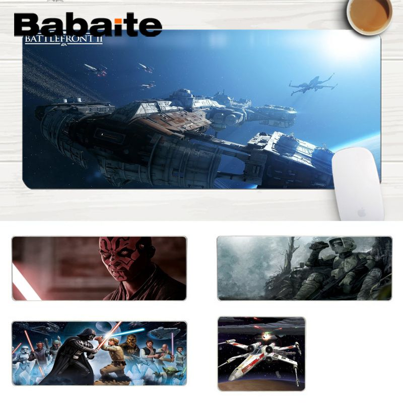 Star Wars Mousepad Gaming Mouse Pad Gamer Mat Game Computer Desk Padmouse Keyboard Large Play Mats to keyboard Mouse Mats For PC image
