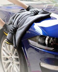 Image 4 - 1/3/5 Pcs Microfiber Car Cleaning Handdoek Micro Fiber Auto Wassen Handdoeken Extra Zachte Drogen Doek Auto Wassen Vodden auto Accessoires