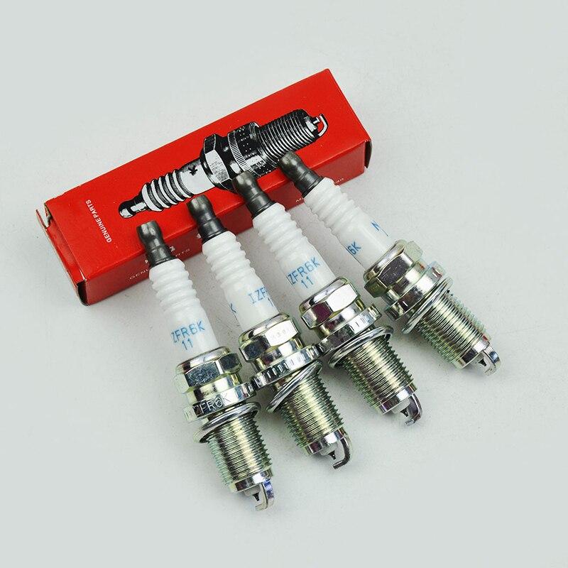 High Quality IZFR6K 11 9807B 5617W IZFR6K11 Iridium Spark Plugs Laser Iridium Spark Plug For Hond 9807B 5617W IZFR6K11 6994|Spark Plugs & Glow Plugs| |  - title=