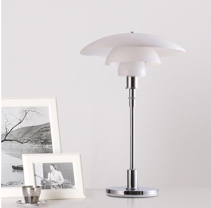High quality creative glass table lamp living room bedroom decoration lamp post-modern glass table lamp