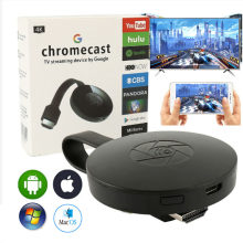 2.4g wifi display dongle crema elenco google youtube airplay miracast tv vara para g2 g3 chrome cromecast 2