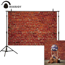 Allenjoy photophone backdrop red brick wall rustic vintage architecture model background photocall photo studio shoot prop allenjoy blue elephant photo background baby shower birthday photography backdrop photocall shoot photo studio prop fabric