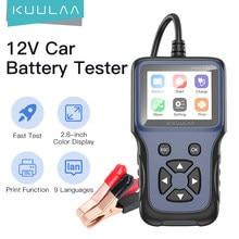 KUULAA V311B – testeur de batterie de voiture, analyseur de tension 12V 2000CCA, détecteur de batterie de moto, outils de charge Cricut