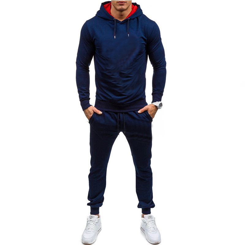 NEW Sporting Suits Mens Fashion Tracksuit Men Trainingspak Survetement Men's Sportwear Suit Hoodies Tracksuit Set Mal