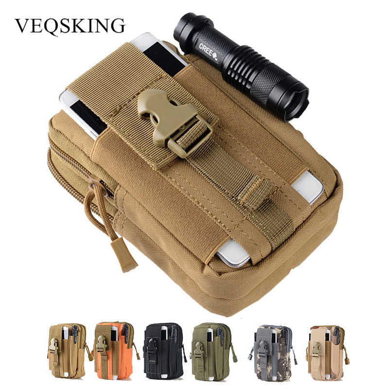 800D Nylon Military Tactical Pouch,Outdoor Molle Taille Gürtel Tasche, 5,7 inch Universelle Tactical Telefon Beutel Berg Outfit 6 Farben