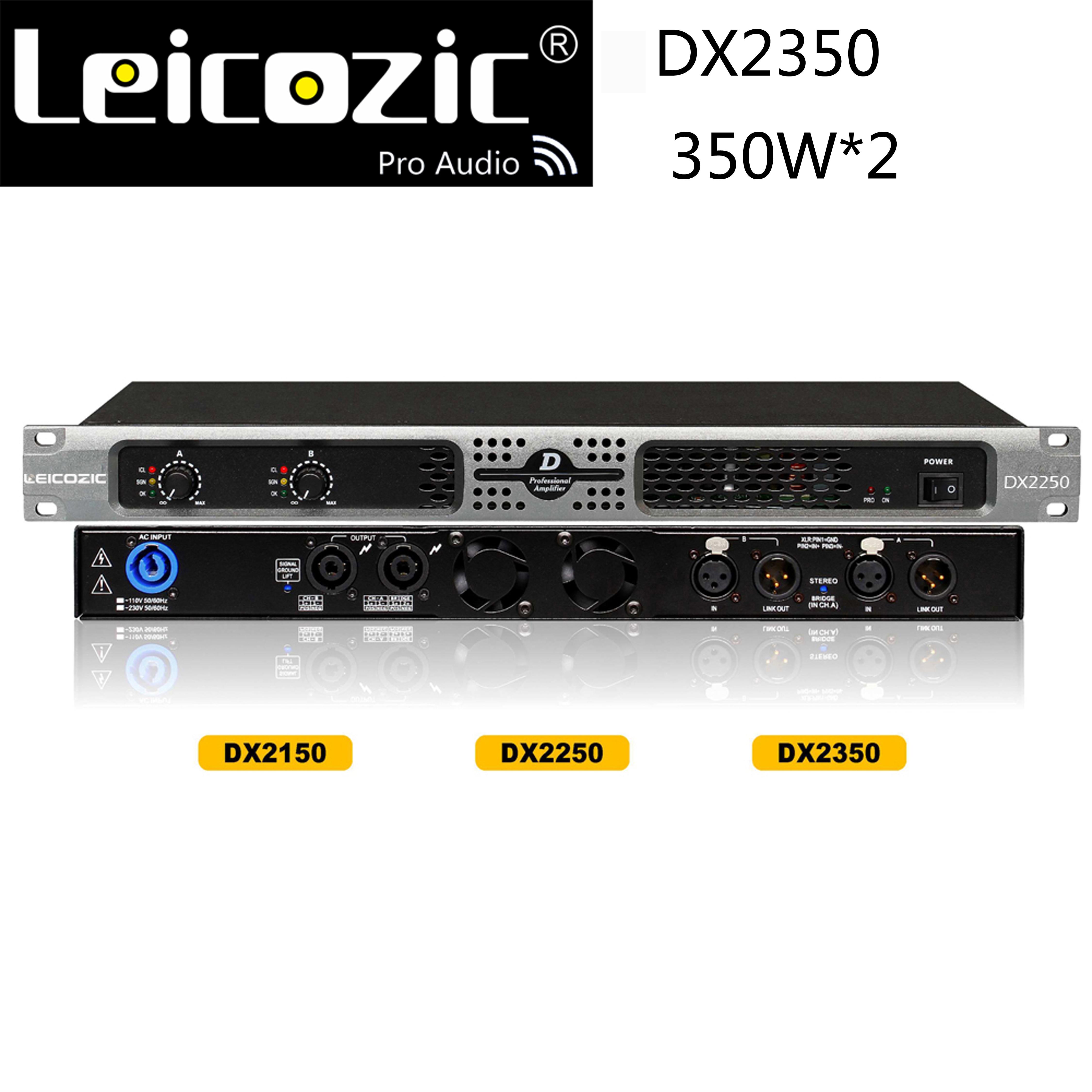 Leicozic DX2350 1u-power-amplificateur amplificateur de musique amplificateur professionnel 550W amplificateur audio 1u amplificateur de puissance pour scène