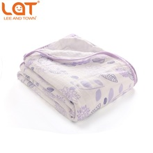 Double Layers Cotton Muslin Blanket Baby Swaddle Wrap Blanket Child Bedsheet Newborn Receiving Blanket Kid Bath Towel Baby Quilt