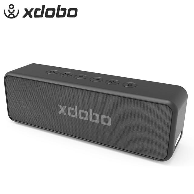 XDOBO X5 Portable Wireless Bluetooth Speaker True Wireless Stereo Super Bass IPX6 Waterproof 30W Subwoofer Speaker 15h Play time