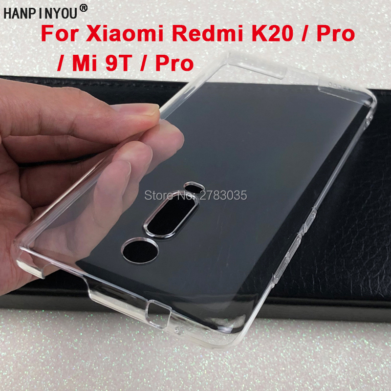 For Xiaomi Redmi K20 Note 8T 6 7 Mi 9T 8 9 10 Pro A3 Glossy Snap Case Crystal Hard PC Full Cover Clear Camera Protect Back Shell