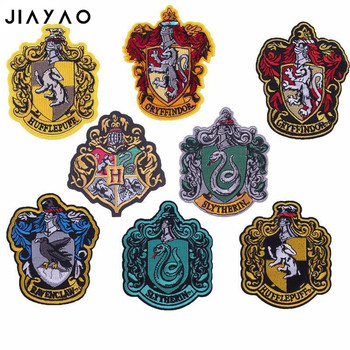 Embroidered patch DIY badge paste applique hand-stitched fabric  thermo-adhesive clothing stickers