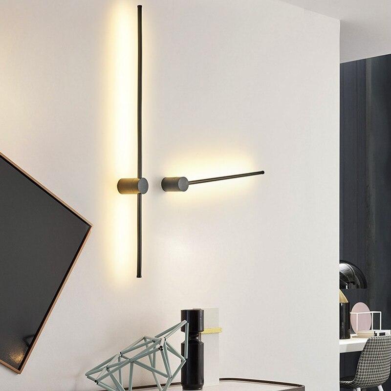 Or Noir Moderne Led Miroir Lumieres Salle De Bains Chambre Tete De