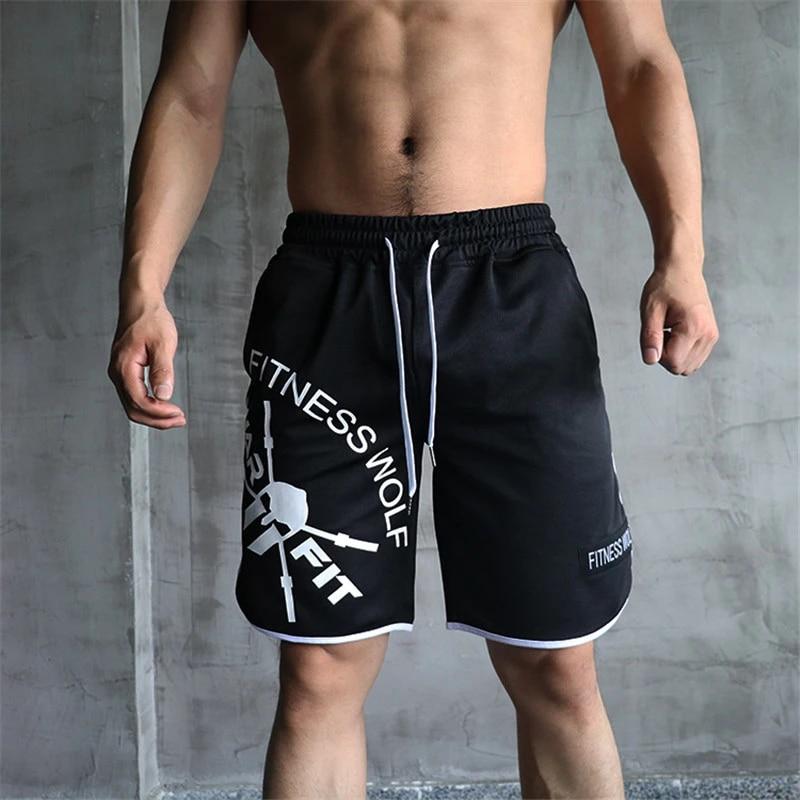 Training Sweatshirts Joggen Bodybuilding Kurze Hosen Locker Sommer Strand
