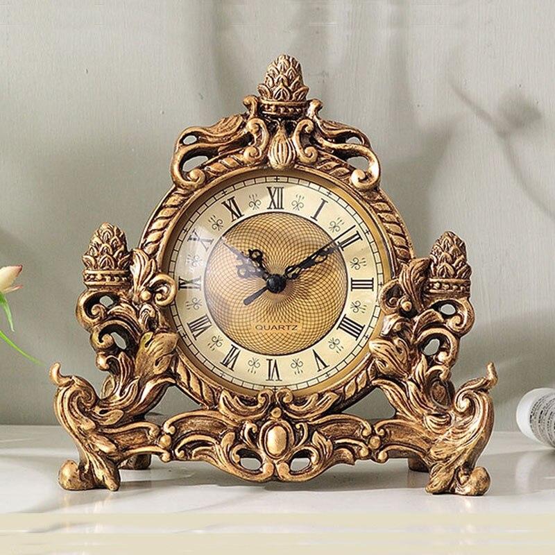 Reloj de mesa con decoración para sala de estar, Reloj de escritorio Retro nórdico, moderno, moderno, creativo, Europeo, relojes de escritorio, regalo Tabla Periódica de elementos, arte de pared, símbolos químicos, reloj de pared, pantalla educativa, elemento, reloj de aula, regalo de maestro