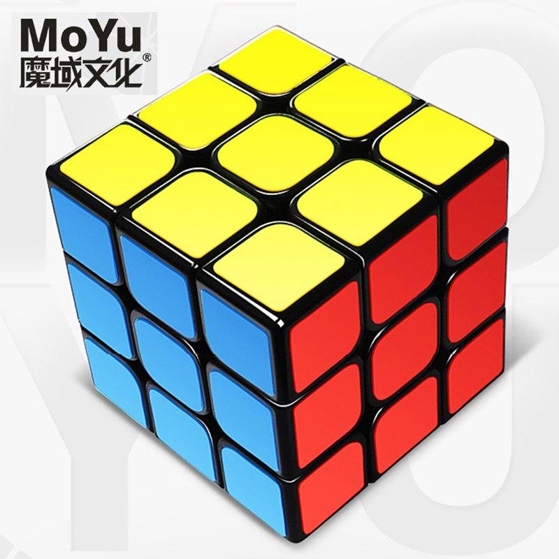MOYU MF8816 מותג חינוכיים לילדים 3x3x3 מהירות קוביית פאזל ניאו Cubos כיף לאוטיזם משחקים לילדים צעצועים