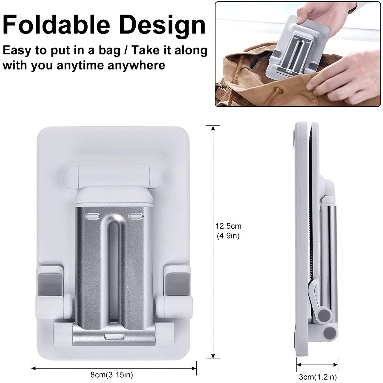 suporte smartphone tablet mesa portátil metal celular suporte para iphone ipad