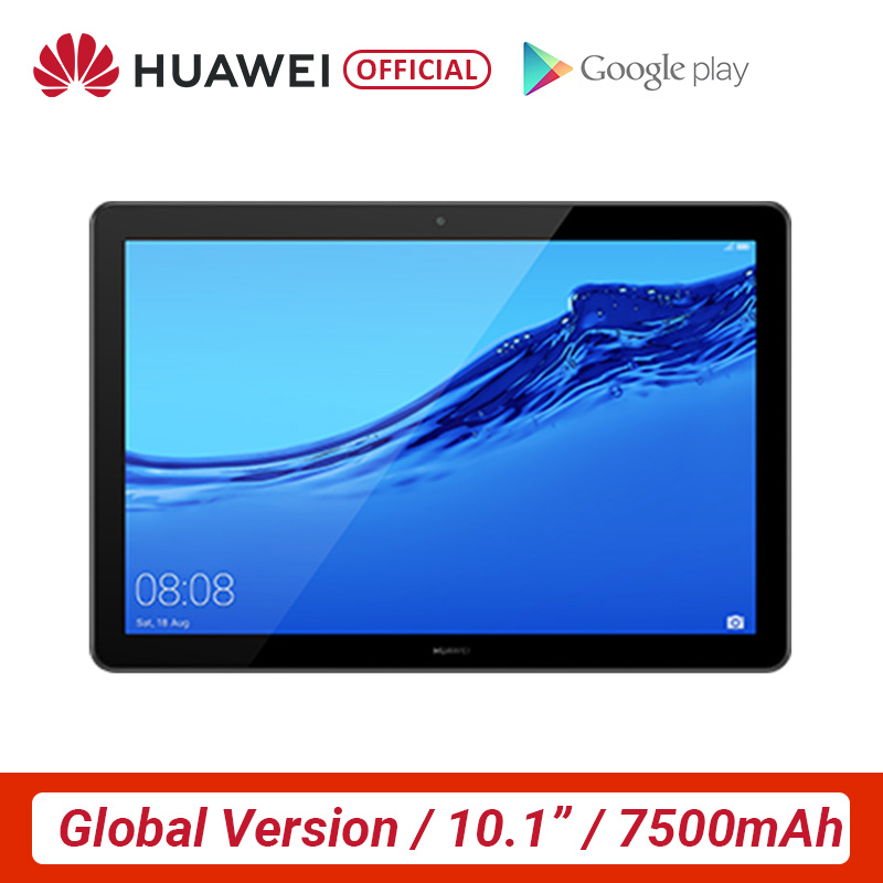 Global Version HUAWEI MediaPad M5 Lite 10.1 Inch Tablet PC 3GB 32GB MicroSD Kirin 659 Octa Core LTE 7500 MAh Android 8.0