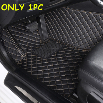 Sinjayer 1PC Waterproof Car Floor Mats FloorLiner For TOYOTA Vios Prius Prado RAV4 Corolla Crown Camry Highlander C-HR Tundra image