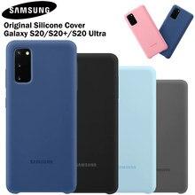 Samsung – coque arrière en Silicone souple, antichoc, pour Samsung Galaxy S20, S20Plus, S20Ultra, S20 Ultra