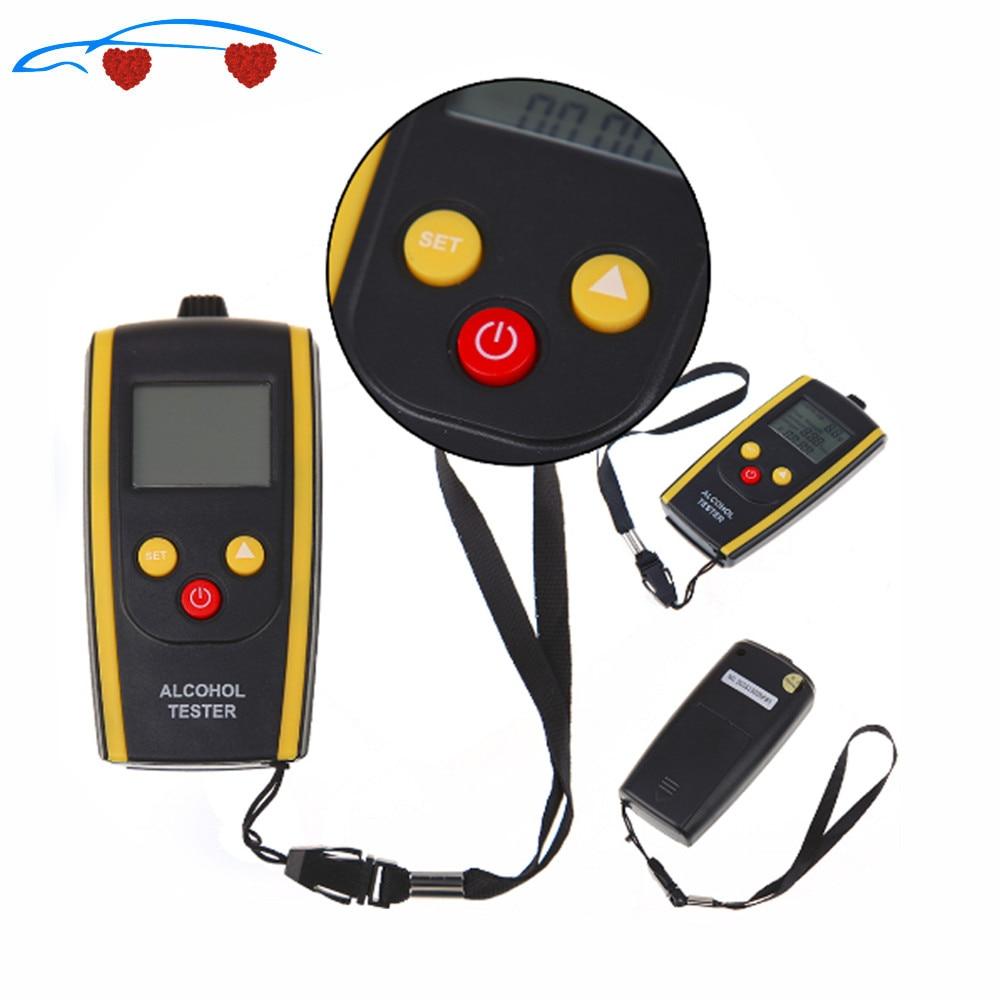 Portable Quick Response LCD Digital Alcohol Tester Breathalyzer