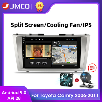 JMCQ Android 9.0 2G+32G Car Radio Multimidia Video Player Navigation GPS Stereo For Toyota Camry 40 50 2006-2011 2din Autoradio image