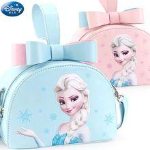 Original Genuine Disney frozen elsa Princess Sofia Children Toy pink blue bag Satchel handbag single shoulder  2019 New Hot