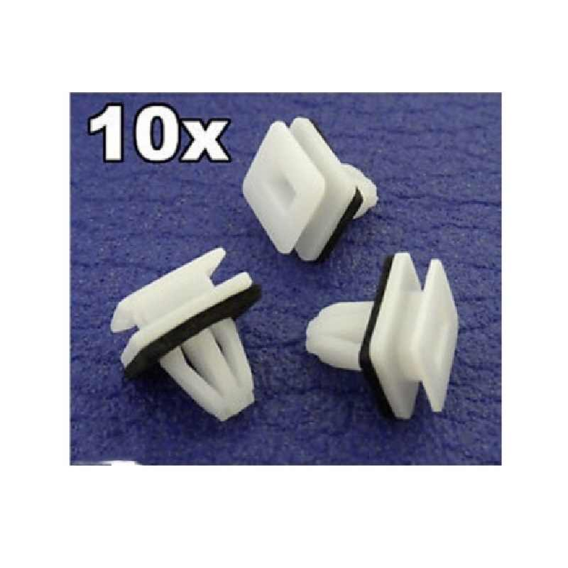 SAAB CARD SIDE SKIRT BUMP PANEL LINING REPAIR TRIM CLIPS PACK OF 10