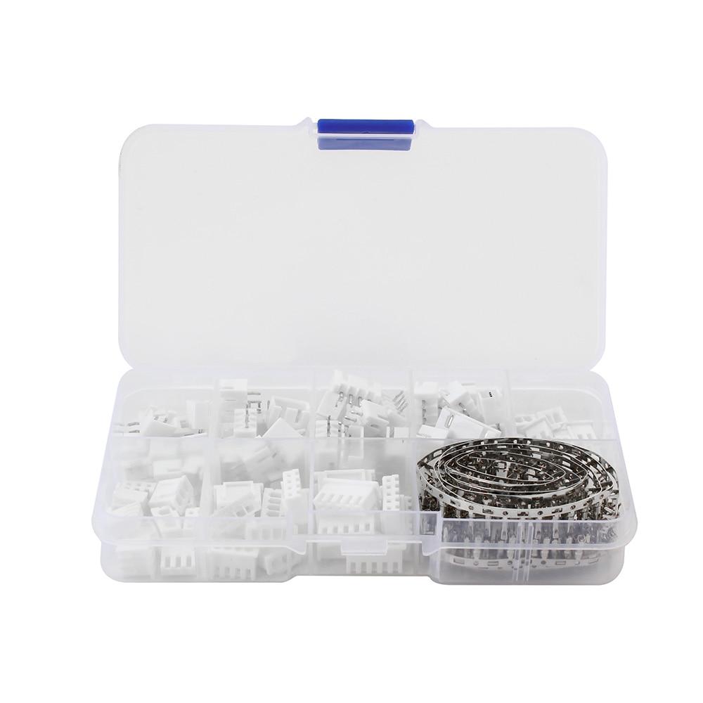 230 pces xh2.54 2p 3p 4p 5 pinos jst conector conjunto 2.54mm passo terminal kit/carcaça/pino cabeçalho fio conectores adaptador xh kits tjc3|Conectores|   - AliExpress - Componentes eletrônicos
