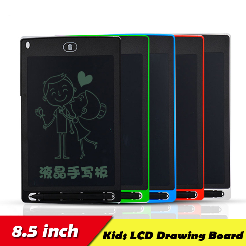 NEW Drawing Toys For Kids LCD Drawing Board Children Drawing Tablet Scratch Painting Toy With Anti-erase Lock Birthday Gifts