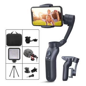 Keelead L7B 3-Axis Handheld Gimbal for Smartphone Bluetooth Connect Video Record Portable Foldable Chargeable Stabilizer