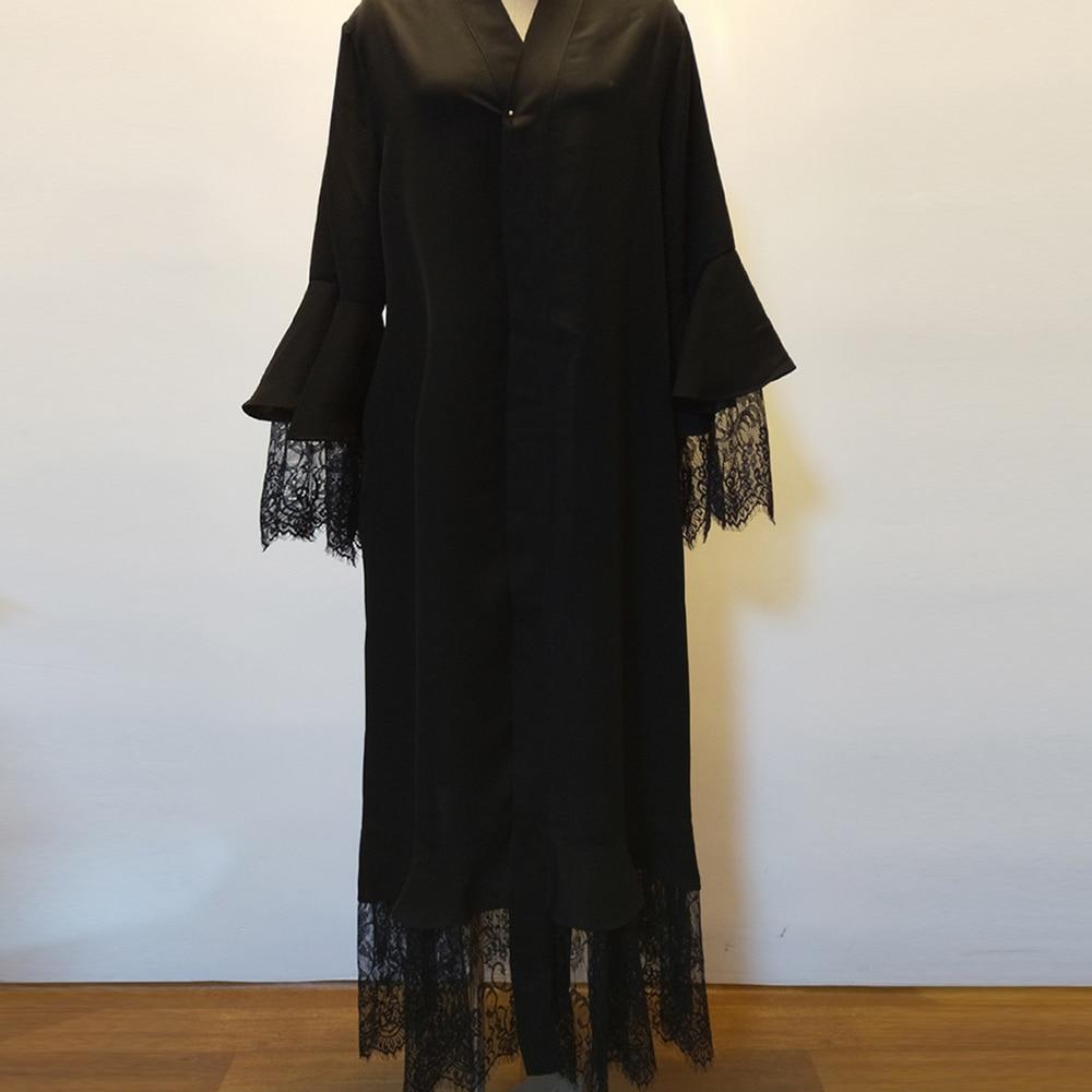Eid Mubarek Kaftan Abaya Dubai Kimono Cardigan Hijab Muslim Dress Islam Clothing Abayas For Women Caftan