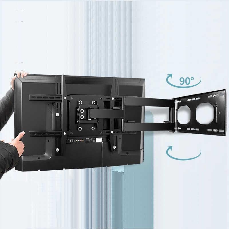 lvdibao support mural tv 32 70 ecran lcd tv plus solide stable grande capacite de charge jusqu a 80kg