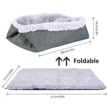 Pet foldable bed