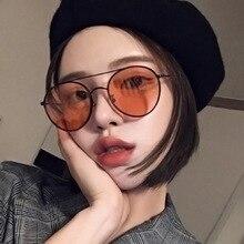 Retro Round Sunglasses Women 2019 Luxury Brand Designer Mirror Sun Glasses High