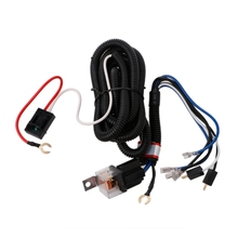Premium Quality 12V Electric Horn Relay Wiring Harness Kit For Grille Mount Blast Tone Horns Car Auto Replacement Parts