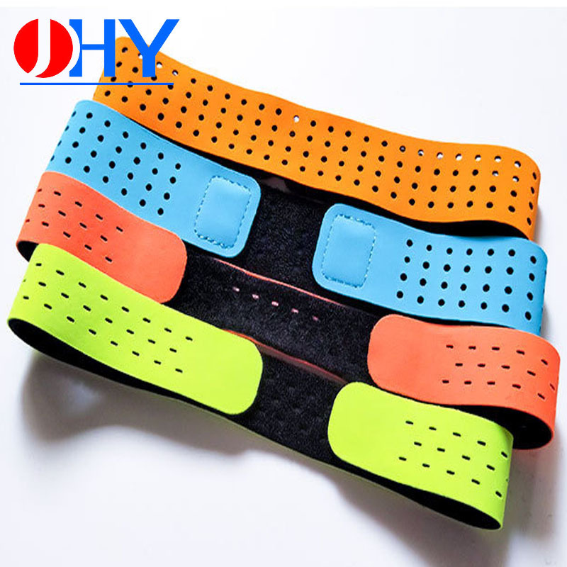 Customizable Sports Heart Rate Arm Band Bluetooth Heart Rate Lycra Watch Strap Smart Elasticity Elastic Band Velcro Table