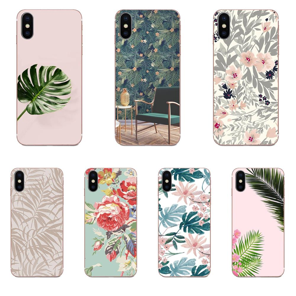 Tropic Beige And Rose Gold Wallpaper Soft Tpu Pattern For Samsung Galaxy A51 A71 A81 A90 5g A91 A01 S11 S11e S20 Plus Ultra Half Wrapped Cases Aliexpress
