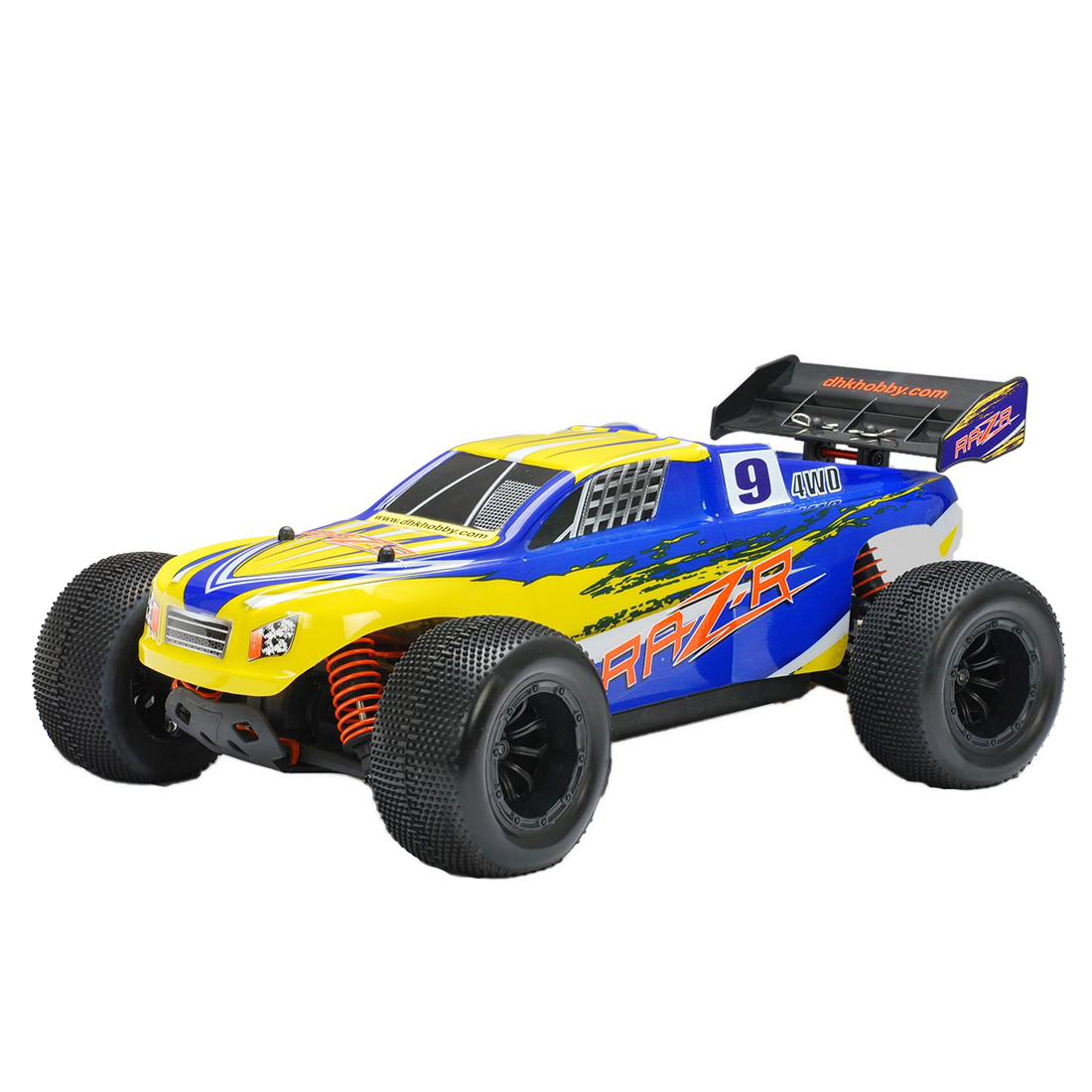 DHK 8134 RAZ-R 1/10 4WD 32kph 60A Brushed Racing Short Course Truck 4WD RC Car - RTR Version AU Plug