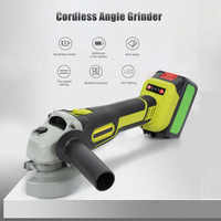 8000rpm Cordless Angle Grinder Brushless Polisher Grinding Metal Cutter 8000mAh Li-ion Battery Rechargeable Power Tool