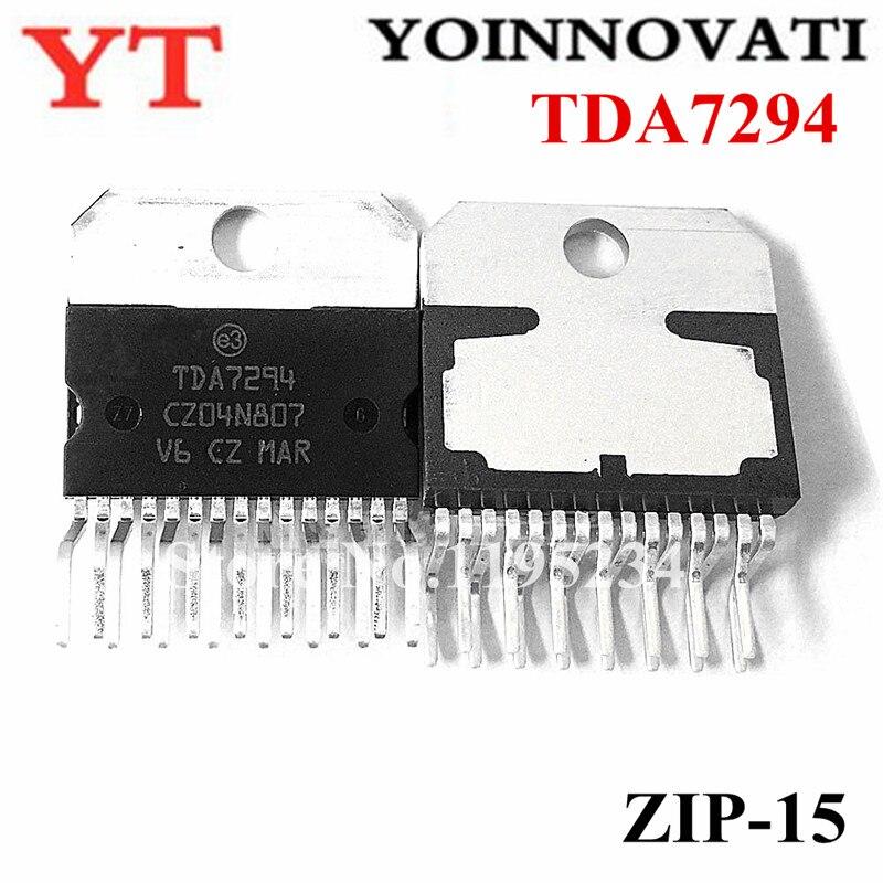 10pcs/lot  TDA7294 7294 ZIP-15 IC AMP AB MONO 100W 15MULTIWAT