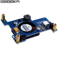GeeekPi Raspberry Pi PoE HAT Module Power-Over-Ethernet Expansion Board with Cooling Fan 30x30x7mm for Raspberry Pi 4B / 3B+