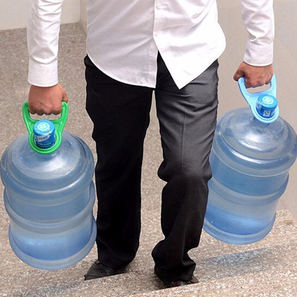 Новые 1 шт канистра для бутилированной воды ручка ковша воды расстроен Nergy бутилированной воды носить воду ручка ведра