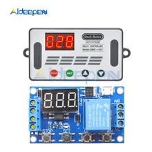 DC6-30V цифровой Дисплей времени модуль реле задержки времени таймер реле отсрочка таймера время цикла Управление переключатель Напряжение защиты