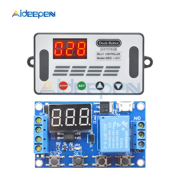 DC6-30V Digital Display Time Relay Module Time Delay Relay Timer Relay Timing Delay Cycle Time Control Switch Voltage Protection ad78s electrical relay used for protection relay over current relay overload relay