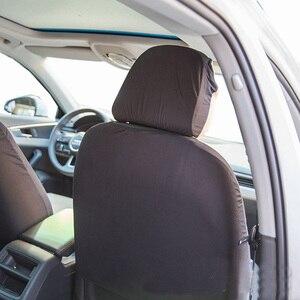 Image 4 - Carnong universel housse de siège de voiture protecteur véhicule automobile mode doux confortable quatre saisons auto siège couverture protecteur